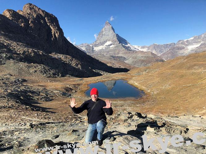 Matterhorn, Switzerland (45° 58′ 35″ N, 7° 39′ 31″ E)...