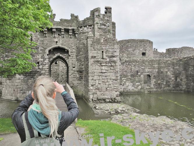 Beaumaris Castle, Wales...