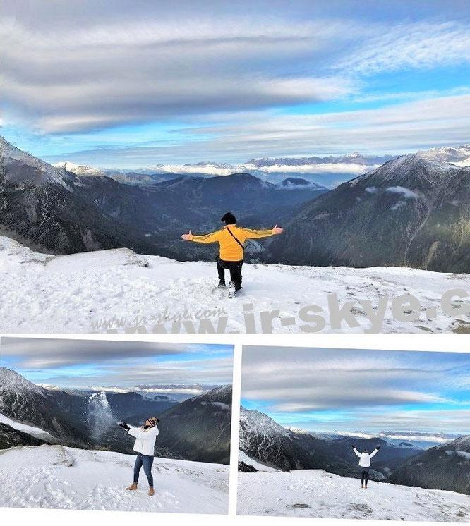 Im Schatten des Mont Blanc bzw. über den Dächern Europas: über den Glacier de Géant und das Mer de Glace bis nach Montenvers und Chamonix!