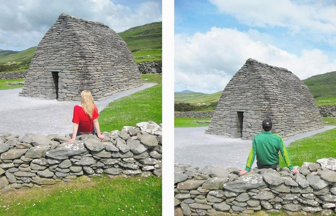 """colum mac dinet. My location: Gallarus Oratory (780 AC/52´10´21´N…), Republic of #Ireland #architecture #Eire."""