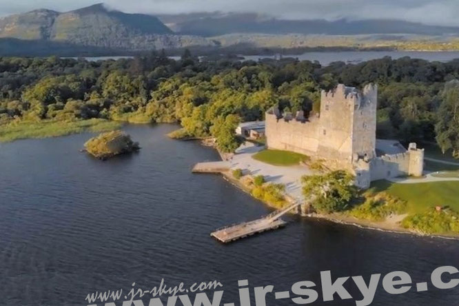 Ross Castle, Killarney - 52° 2′ 29.07″ N, 9° 31′ 53.59″ W.  Fabricated by me & my old new toy, DJI Mavic Pro Platinum Combo.""