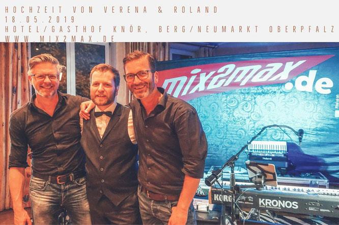 Partyband und Hochzeitsband mix2max