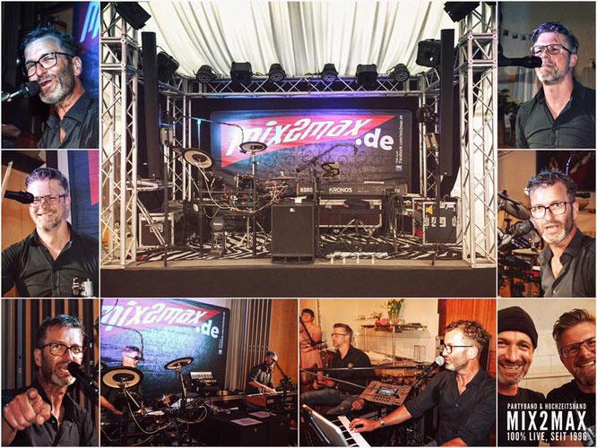 Musikband, Liveband, Livemusik für Geburtstag, Hochzeit, Firmenfeier, Weihnachtsfeier. Partyband Hochzeitsband mix2max.