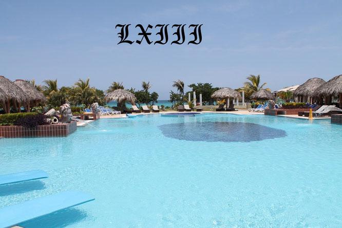 Mein Pool vom letzten Kuba-Urlaub