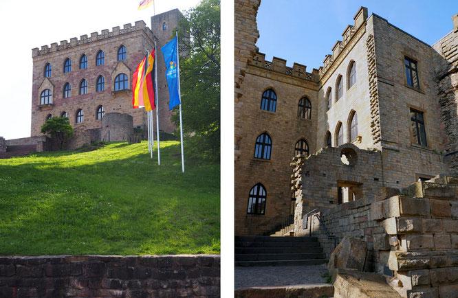 nur ein kleiner Teil des riesigen Schlosses mit Kern aus dem 11. Jahrhundert