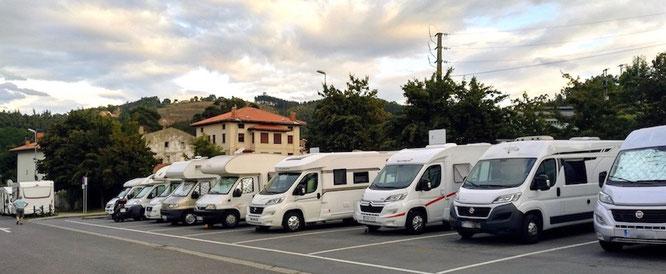 Stellplatz in Lekeitio