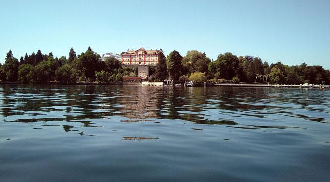 Insel Mainau mit Schloss