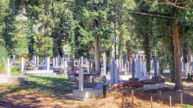 muslimischer Friedhof bei Stolac