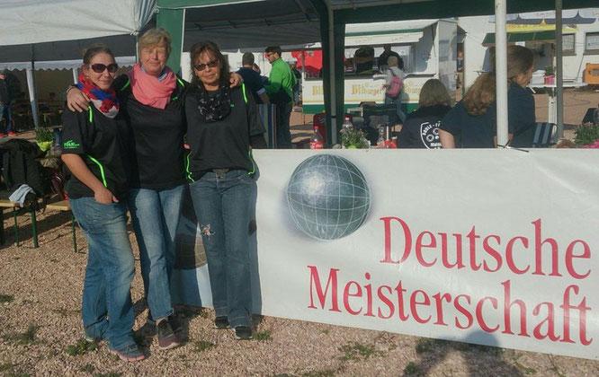 v.l.n.r.: Melanie, Ingrid und Rosita