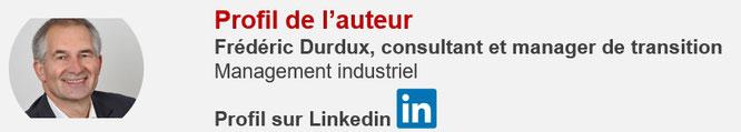 Frédéric Durdux, auteur de l'article sur la performance industrielle