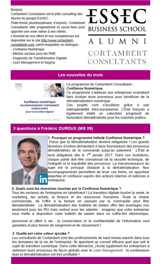 Confiance numérique avec Cortambert Consultants