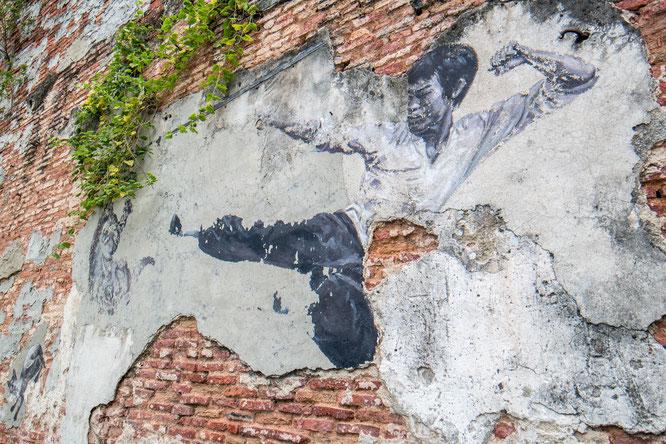 Streetart in George Town Penang