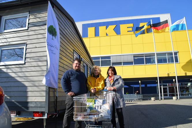 Die ersten Einblicke im neuen TinyHouse Modern mit der Inneneinrichtung von IKEA