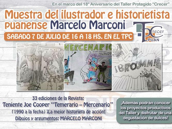 Muestra del Ilustrador e Historietista Marcelo Marconi - Semanario ...