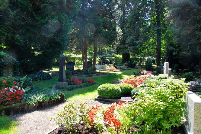 Bild: Hauptfriedhof Ravensburg Naturschutz Artenvielfalt