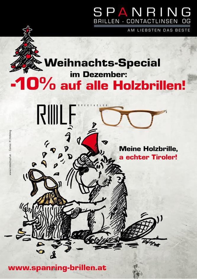 Rolf Holzbrillen Weihnachts-Special 2016