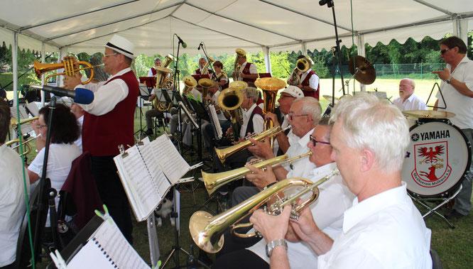 Musikalische Grüße aus dem Oderbruch zum Kreisblasmusiktreffen des Landkreises Oder Spree