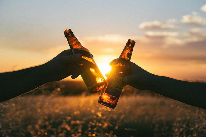 Bier Freundschaft