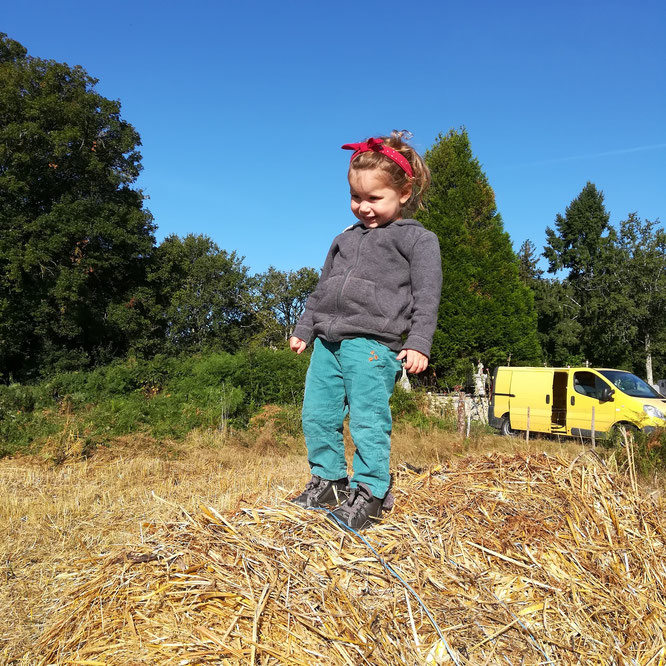Vie de paysanne en famille!