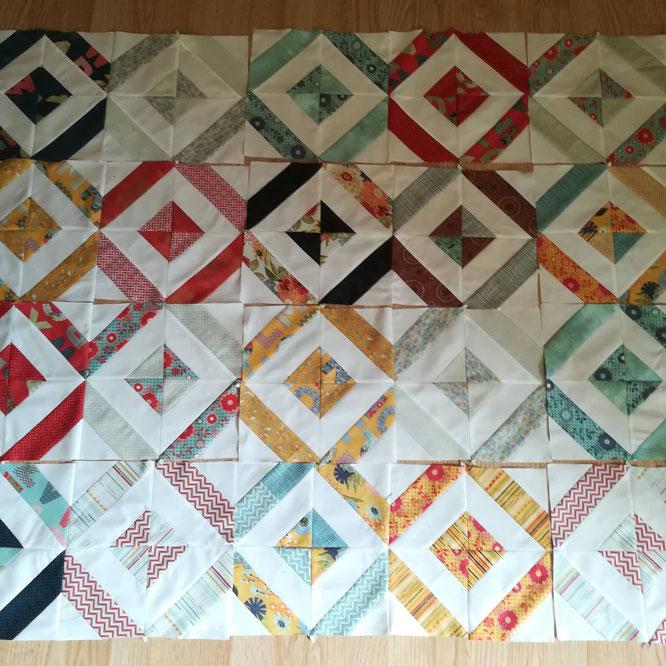 Reprise en douceur du patchwork