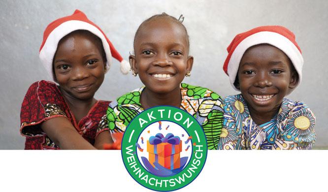 Aktion Weihnachtswunsch Mission Kongo