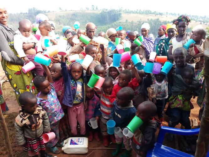 Juni 2020 - Ernährungsprojekt für Kinder im Auftrag von Samaritans Purse (www.die-samariter.org)