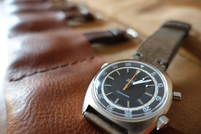 OMEGA SEEMASTER CHRONOSTOP MAN IN TIME