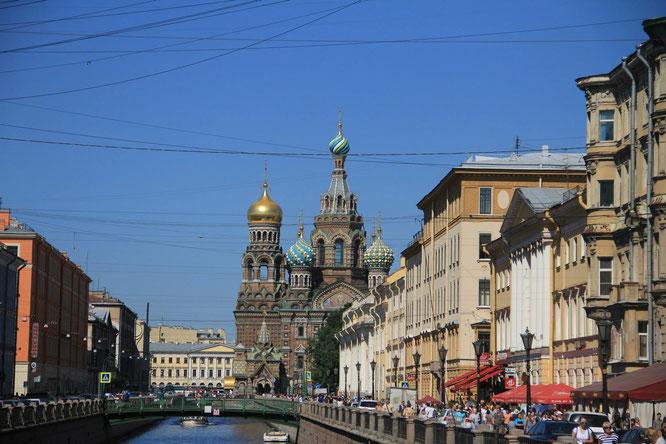 Sankt Petersburg - Am frühen Abend