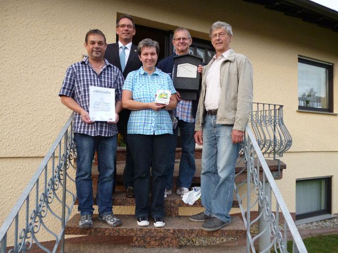 Familie Kilberg aus Wilsenroth (Foto: H.-J. Wagner)