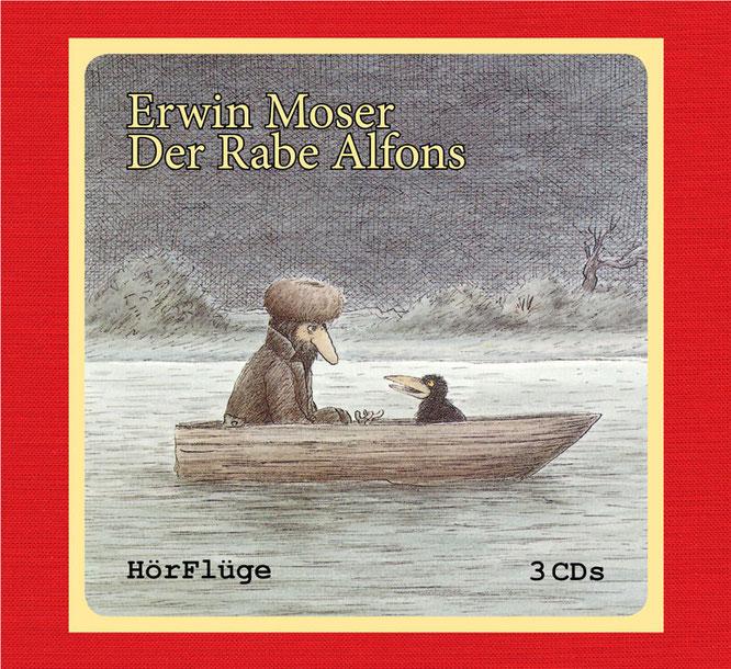 Erwin Moser: Der Rabe Alfons. 3 CDs. ISBN 978-3-9816363-3-8