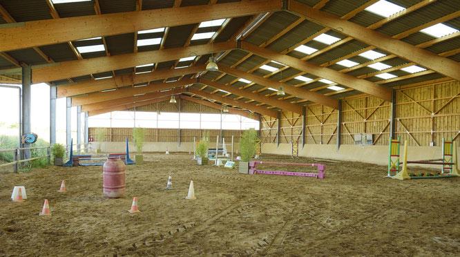 Deux manèges près d'Auxerre pour pratiquer l'équitation en toutes saisons