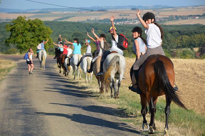Promenades et randos à poney et cheval dans les forêts de l'Yonne