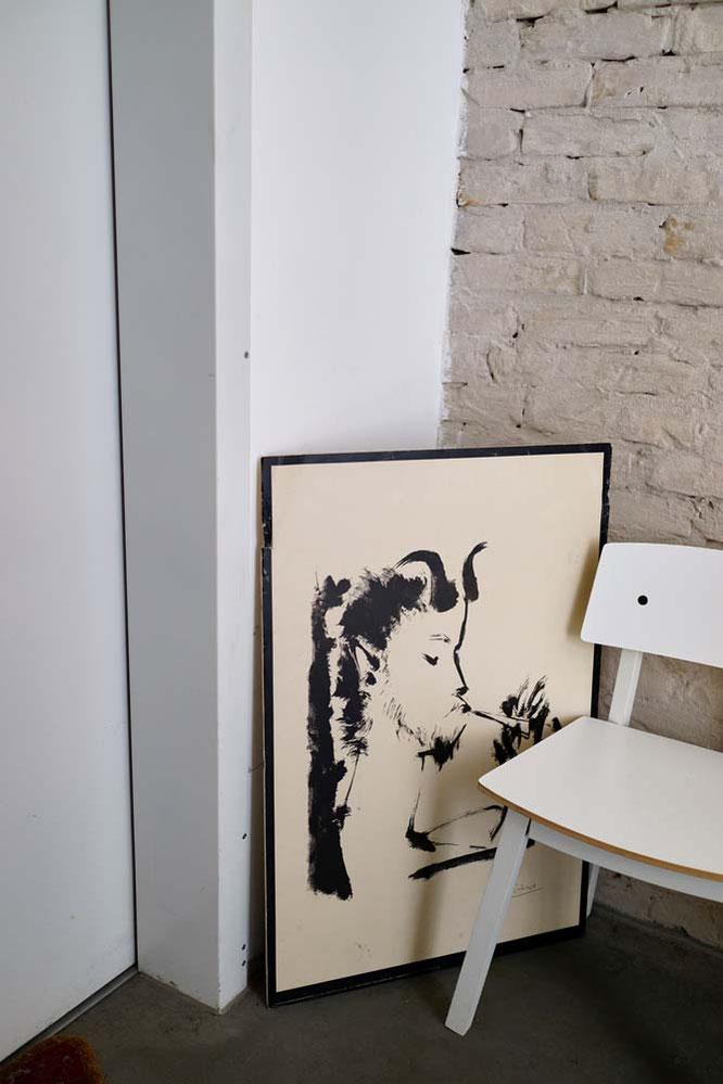 Bild: Sessel und Bild
