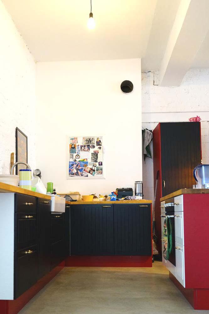 Bild: Küche in Loftwohnung