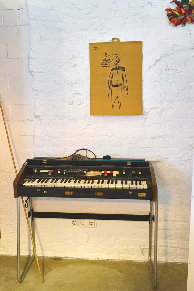 Selbstverständlich: Das Klavier!