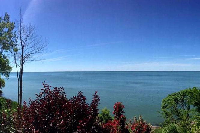 Bild: Blick aufs Meer, Kanada
