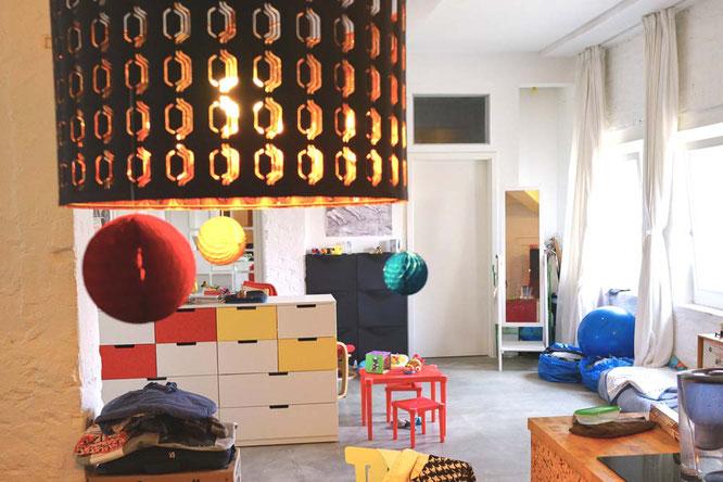 Bild: Playarea in Loftwohnung