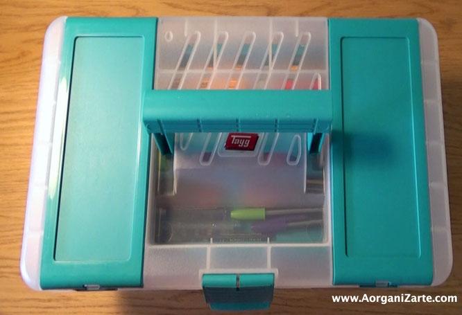 Utiliza una caja de herramientas para crear tu propio kit de tareas del cole - AorganiZarte