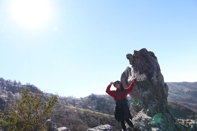大剣道ルート途中にある素敵写真スポット