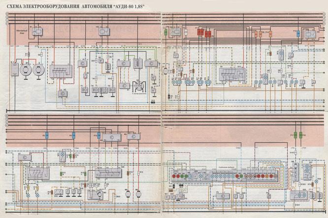 Audi 80 Schaltplan