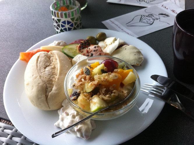 Benitaljo, Fehmarn, Ostsee, Café Sorgenfrei, Frühstück