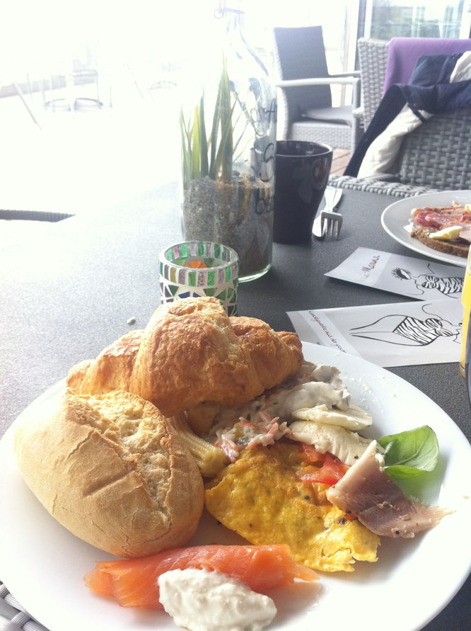 Benitaljo, Café Sorgenfrei, Frühstück, Fehmarn, Ostsee, Burg