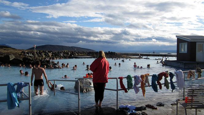 Entspannen im Mývatn Nature Bath