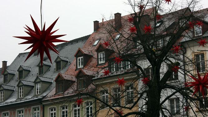 Weihnachtsschmuck in Freiburg