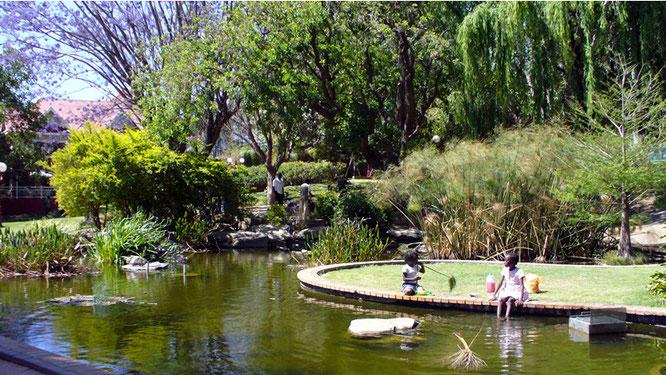 Teich im Park des Tintenpalast