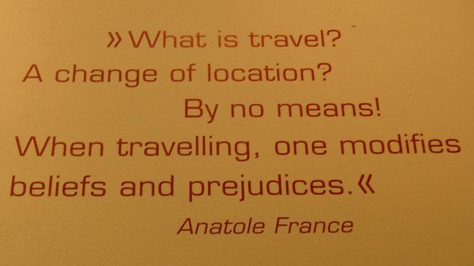 Was ist Reisen?