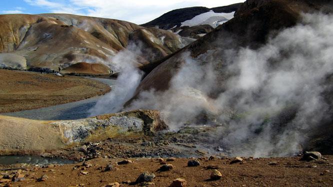 Kveradalir - das heiße Tal