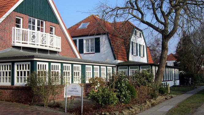 Hotel auf Spiekeroog