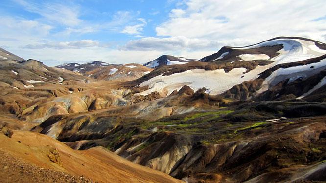 Ryholith-Berge bei Kveradalir