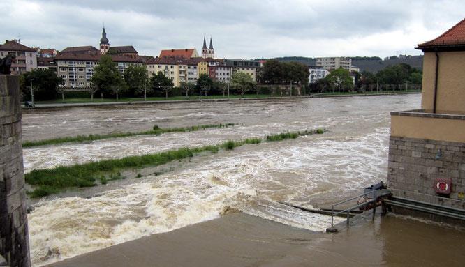 Hochwasser in Würzburg